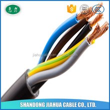 Best Sale Product 5 Core 0.75mm2 Soft Electrical Cable
