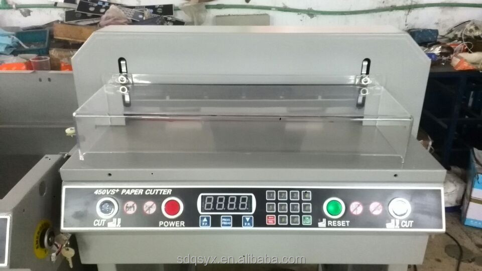 Digital automatic Office Paper Cutter/Paper Guillotine cutter G450VS+