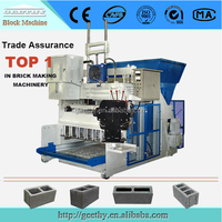 price concrete block machine QMY18-15/QMY12-15/qmy10-15 automatic brick manufacturing plant