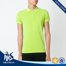 Guangzhou shandao factory casual short sleeve 180g 95%cotton 5%spandex summer fahionable apparels distributors