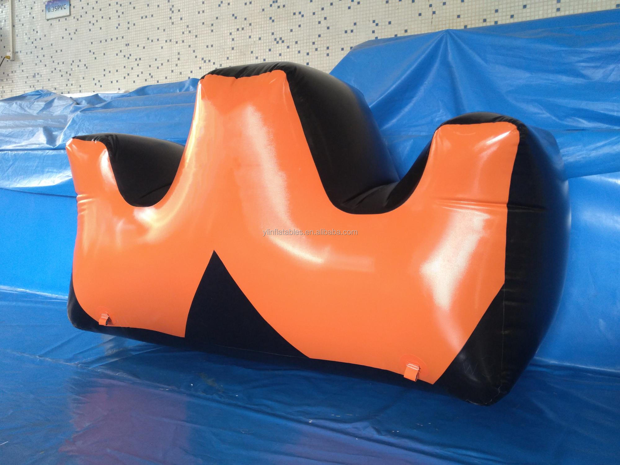 Team Building Inflatable Games, Inflatable Paintball Bunker In China