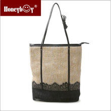 china wholesale women tote bag/college student shoulder bag