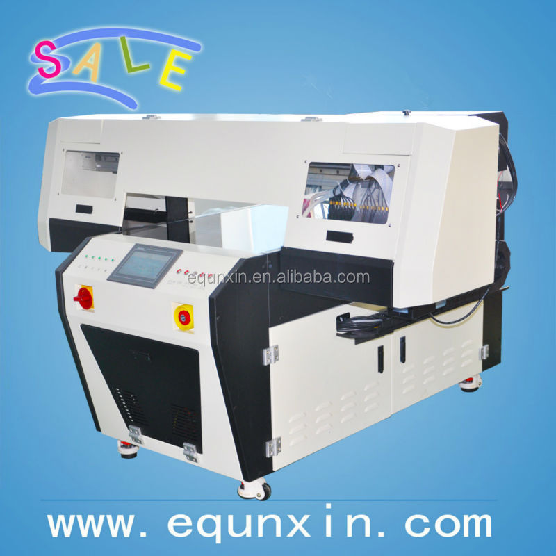 SF6090-v01 flatbed printer with DX5 printhead with UV curable ink, 60*90cm printing