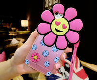 Soft Mobile Phone Cover Laughing LOL Fanny Silicon Smile Flower Case For iPhone6s