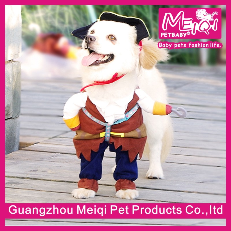 Hot sale halloween pirate costumes dog pet costumes