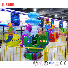 Kids amusement big eyes rotary aircraft for sale