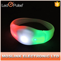 Customized Light Up Bracelets Fashion Led Party Wristbands