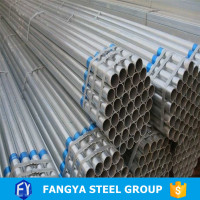 2016 Hot Selling!iron galvanized pipe top product pre-galvanized steel pipe company