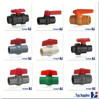 Factory manufacturing UPVC CPVC PPR best price water tank float ball valve