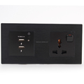 13A double usb 2.1A switch socket outlet