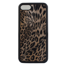 TPU PC Leopard phone cover Casing for apple iphone 7