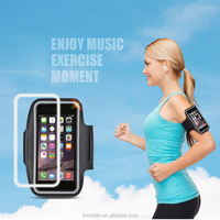 Pink Sports Reflective LED Armband Running Outdoor Holder for iPhone 5 6s