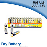 1.5v UM4 r03 battery factory