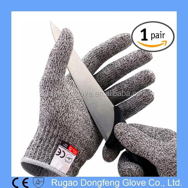 Factory Price High Performance Anti Slash Level 5 Protection Gloves/Cut Safety Glove for Kitchen