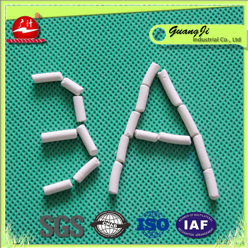 Molecular Sieve Type 3A 4A 5A 13X For Oil And Gas Plant