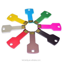 Key Shape Usb Flash Drive Metal