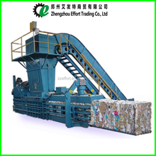 2017 Hot sale horizontal hydraulic cardboard baler/used cotton baler machine/rags packer machinery