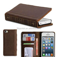 PU Leather Book style Slim Folio Case Cover Stand for HTC ONE M8
