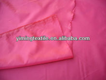 interlining fabric 100% 190t taffeta fabric waterproof,water resistant