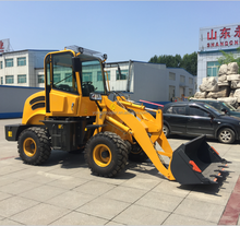 ZL918 chinese wheelloader with diseal engine 490 zl12 loader with snow blade and joystick