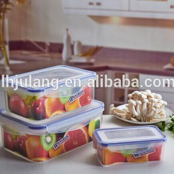 Food grade rectangle preservation box set