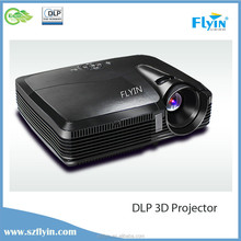High Definition FLYIN 1080P DLP Link Low Cost Projector, 3D Projector, Full Hd 3d Led Projector
