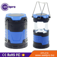 New Style Telescopic Battery or Solar Power or AC Energy 6 LEDs solar powered lantern