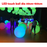 New advertising waterproof led ball/ led ball lights/outdoor inflatable lighting crowd balls with logo printing