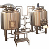 Chinese Supplier Mirror Polished Micro Brewing 200Liter Fermenter Tank Hotel Small Commercial Beer Brewery Equipment