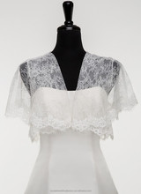 New arrival lace custom-made bridal jacket/lady jacket LJ03
