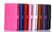 "Cartoon 7"" Stand Leather Cover Micro USB Keyboard Case For Tablet PC"