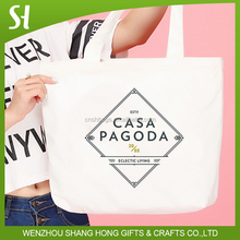 Advertising Shopping Custom Design Cheap Cotton Tote Bag