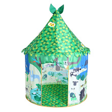 Kids play tent house Indian Tipi Polyster princess castle play tent