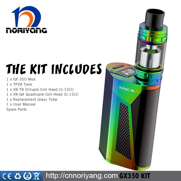 Hottest NEW Design pre order smok gx350 kit 350w box mod