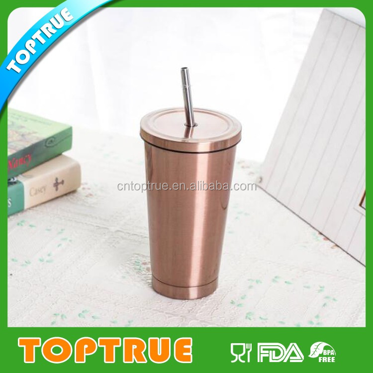 350ml/500ml customized double wall cola shaped vacuum flask