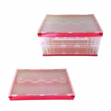 Factory Chicken Cage Foldable Plastic Circulation Crates
