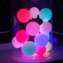 Auto Flashing RGB Ball String Light Slow Fade Decoration Berry Ball Fairy Light