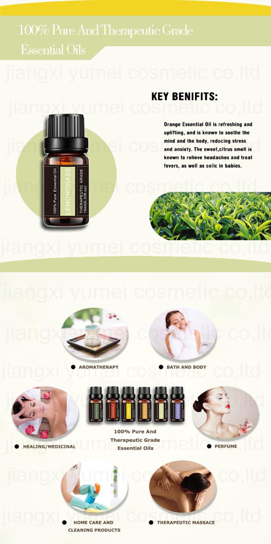 Натуральные эфирные масла 100% эфирные масла Подарочный набор-10 мл ароматерапия подарочный набор 6 чистого масла
