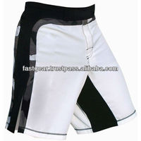 blank fight shorts split mma