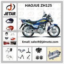 motorcycle spare parts for HAOJUE ZH125