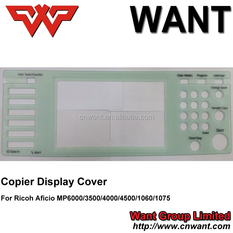 copier upper cover panel for ricoh MP6000 MP1060 MP1075 MP5500 MP4000 MP4500 MP3500 MP3000 MPC5000 MPC2000 MPC2500 MPC2800