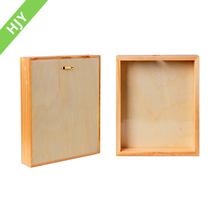 Wholesale high quality wall hanging wooden shadow box frame