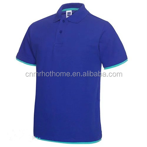 Wholesale customized polo t shirts with your company embroidered logo