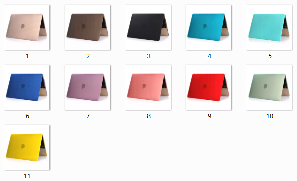 Transpaerent Rubberized Coating For Macbook PC hard Protective Case for macbook air 13 Cover