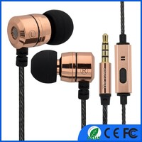 In-Ear Earphone 3.5mm Capsule Earbuds With Mic Remote For iPhone Xiaomi Android