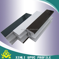 China xinli brand pvc window and door frame manufacture upvc profiles cheap price