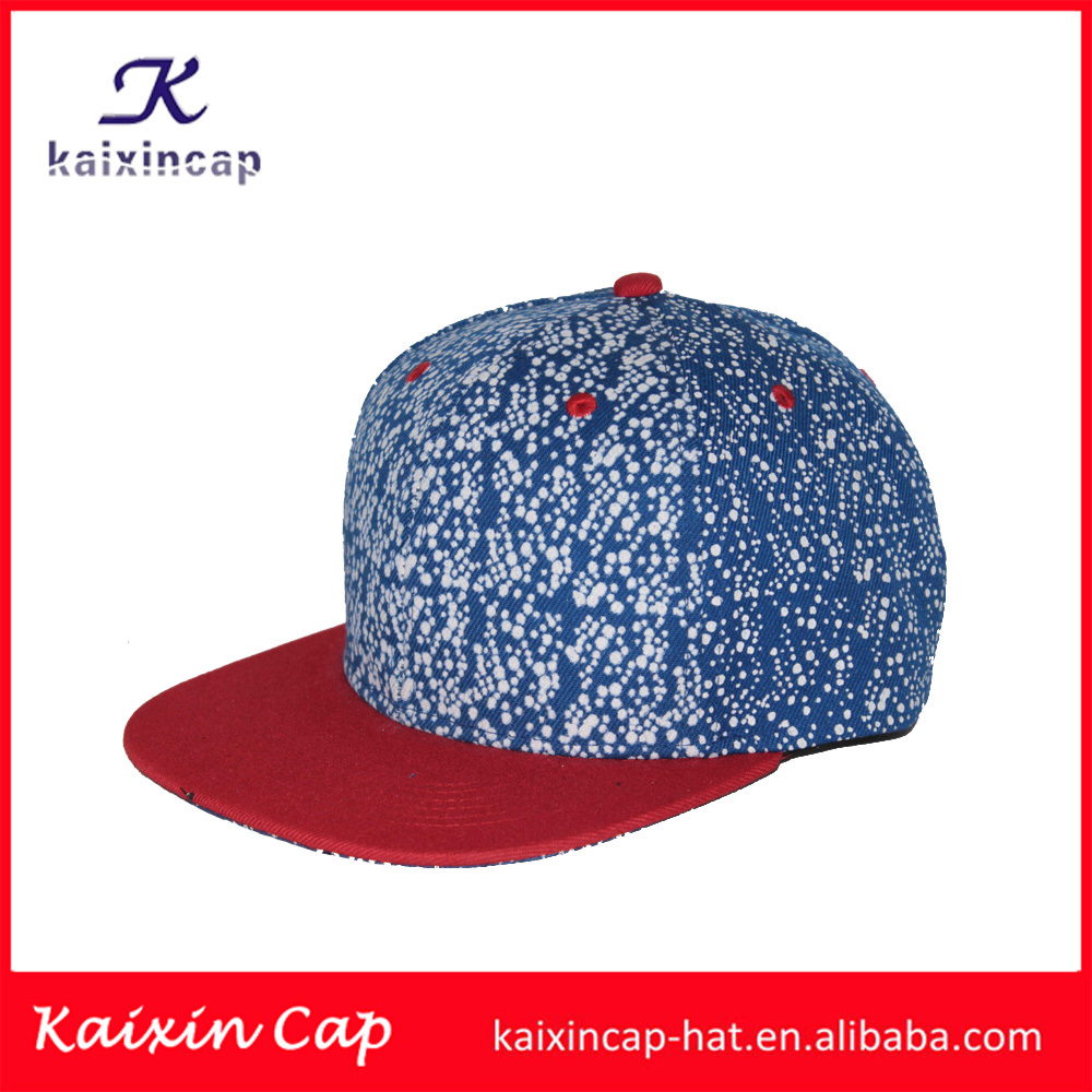 In stock wholesale flat brim caps galaxy snapbacks for cheap