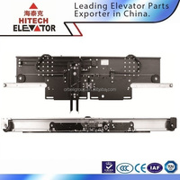CE, EN81 Two painted panels centre opening mitsubishi elevator door system