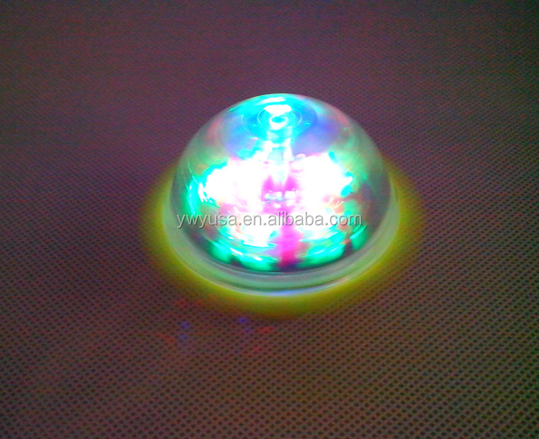 China Factory Direct Christmas gift Spinner peg-top toy led top spinner