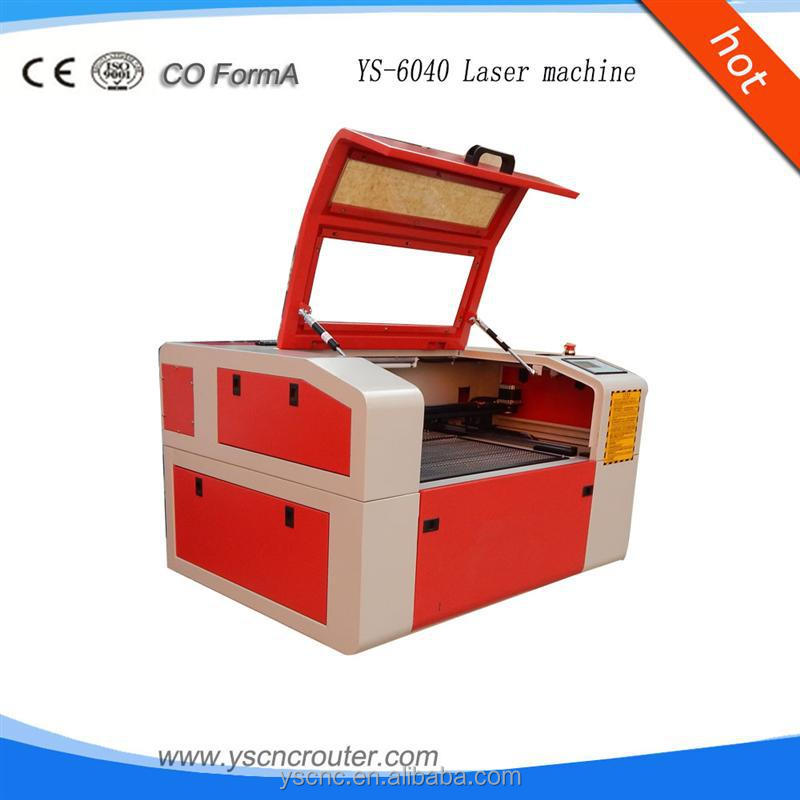desktop laser engraving cutting machine 6040 plastic glass cr tal quartz laser engraving machi 0604